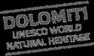 Logo Dolomiti Unesco